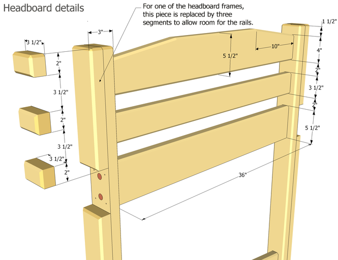 Bunk bed plans build your personal bunk bed how to do for Castle bed plans pdf