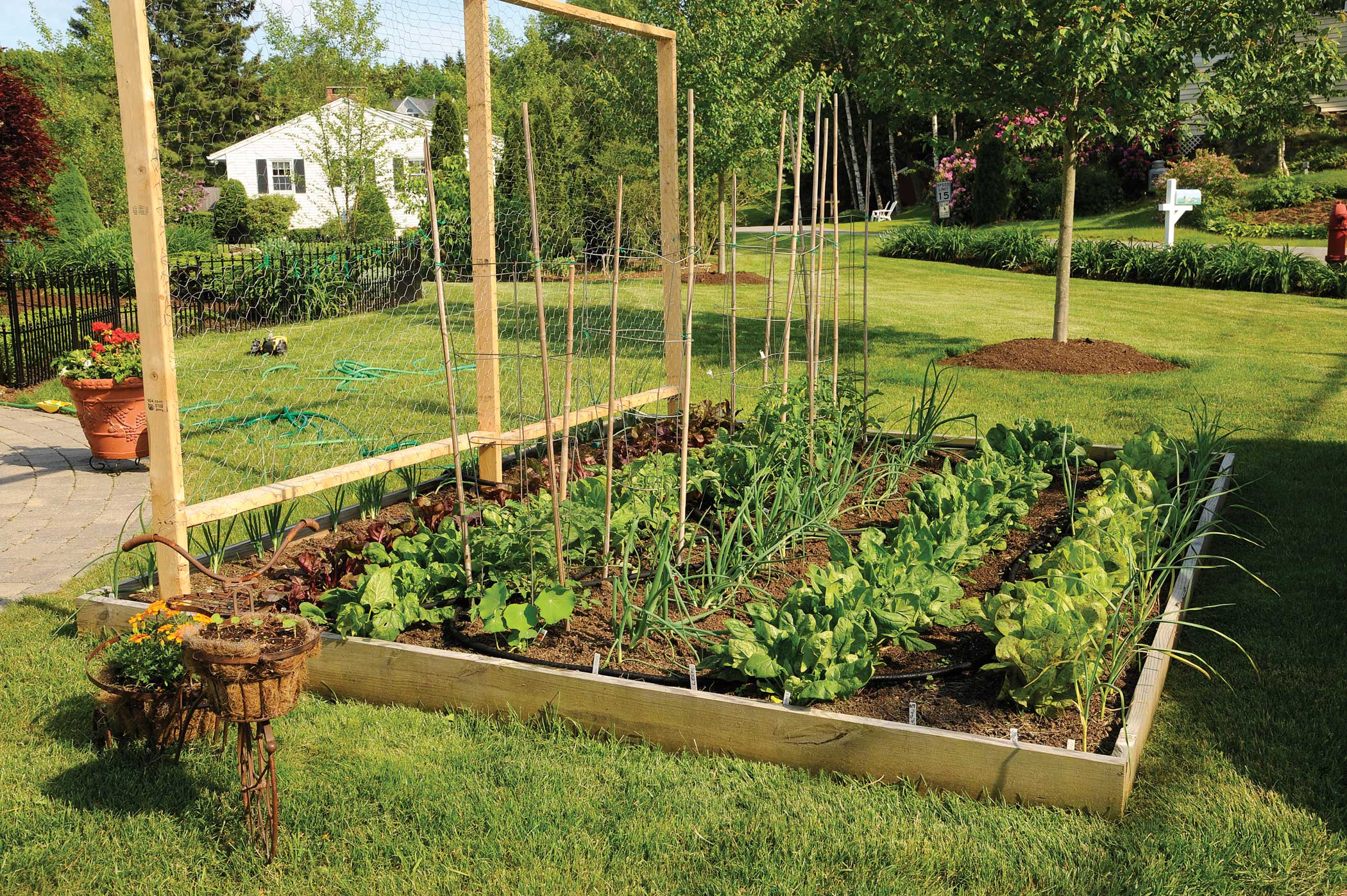Raised garden beds plans ideas on the way to save for Raised bed plans