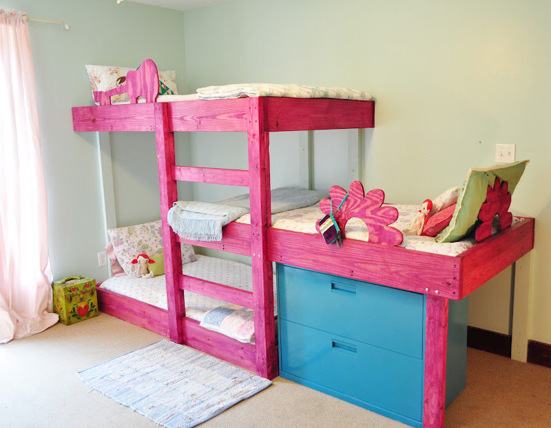 plans for building triple bunk beds | Quick Woodworking Projects