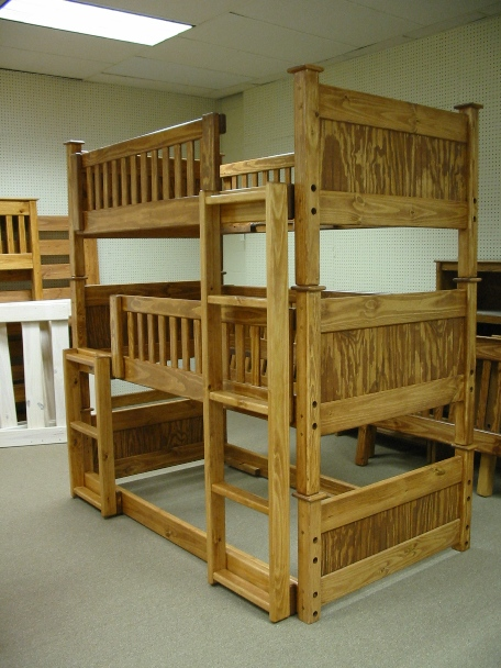 Triple Bunk Bed Plans : Loft Beds And Bunk Beds – Buying ...