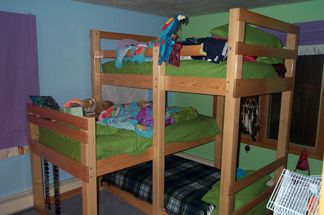 free loft bed woodworking plans