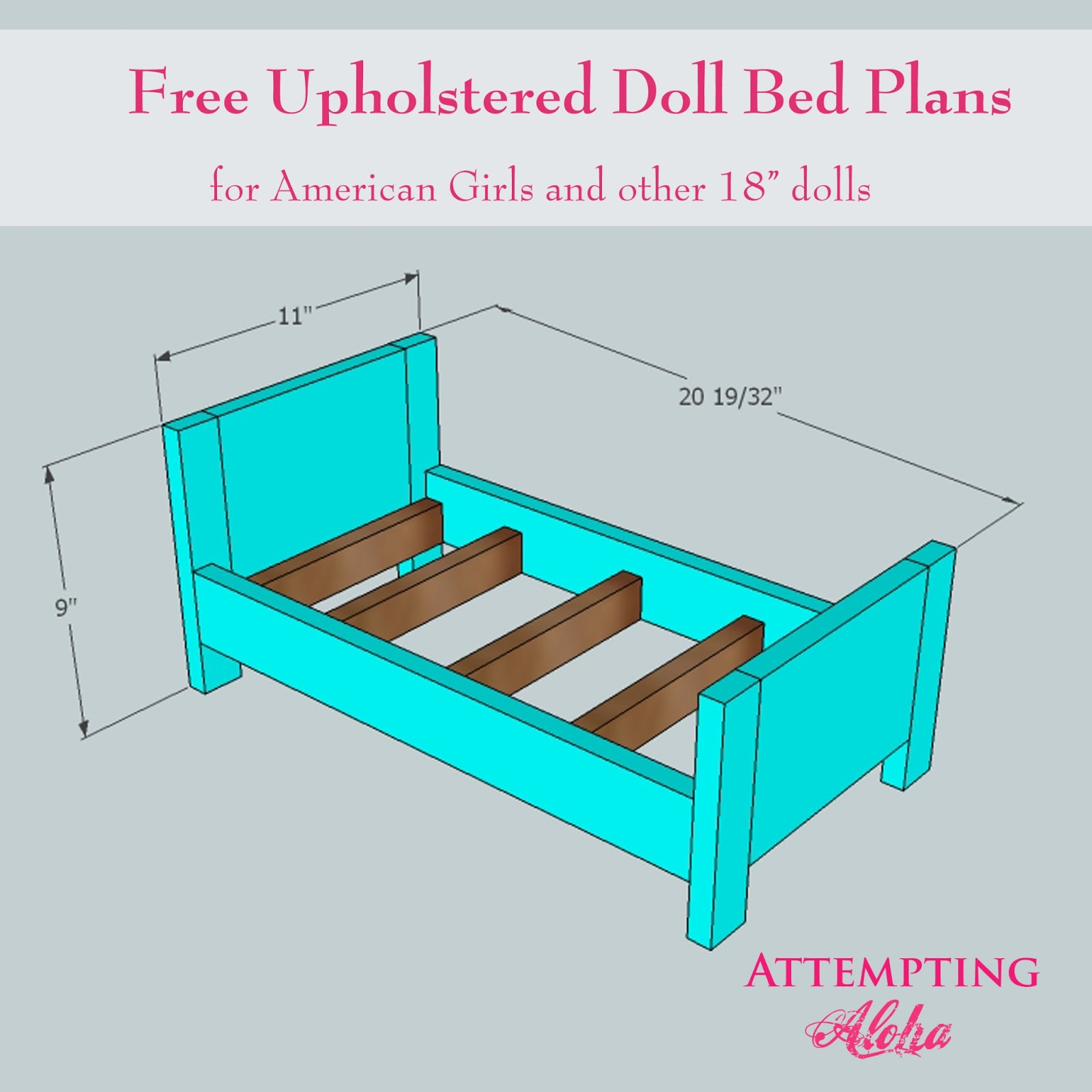 American Girl Doll Bed Plans Free Download PDF DIY woodworking plans ...