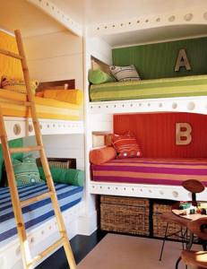 Built In Bunk Bed Plans