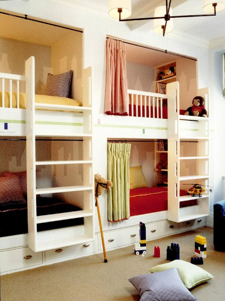 Built In Bunk Beds Plans Bed Plans Diy Amp Blueprints