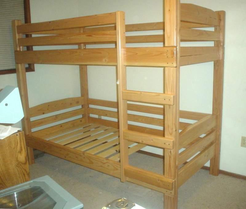 bunk bed building designs