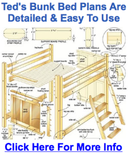 free diy loft bed plans | Moondel Woodplan
