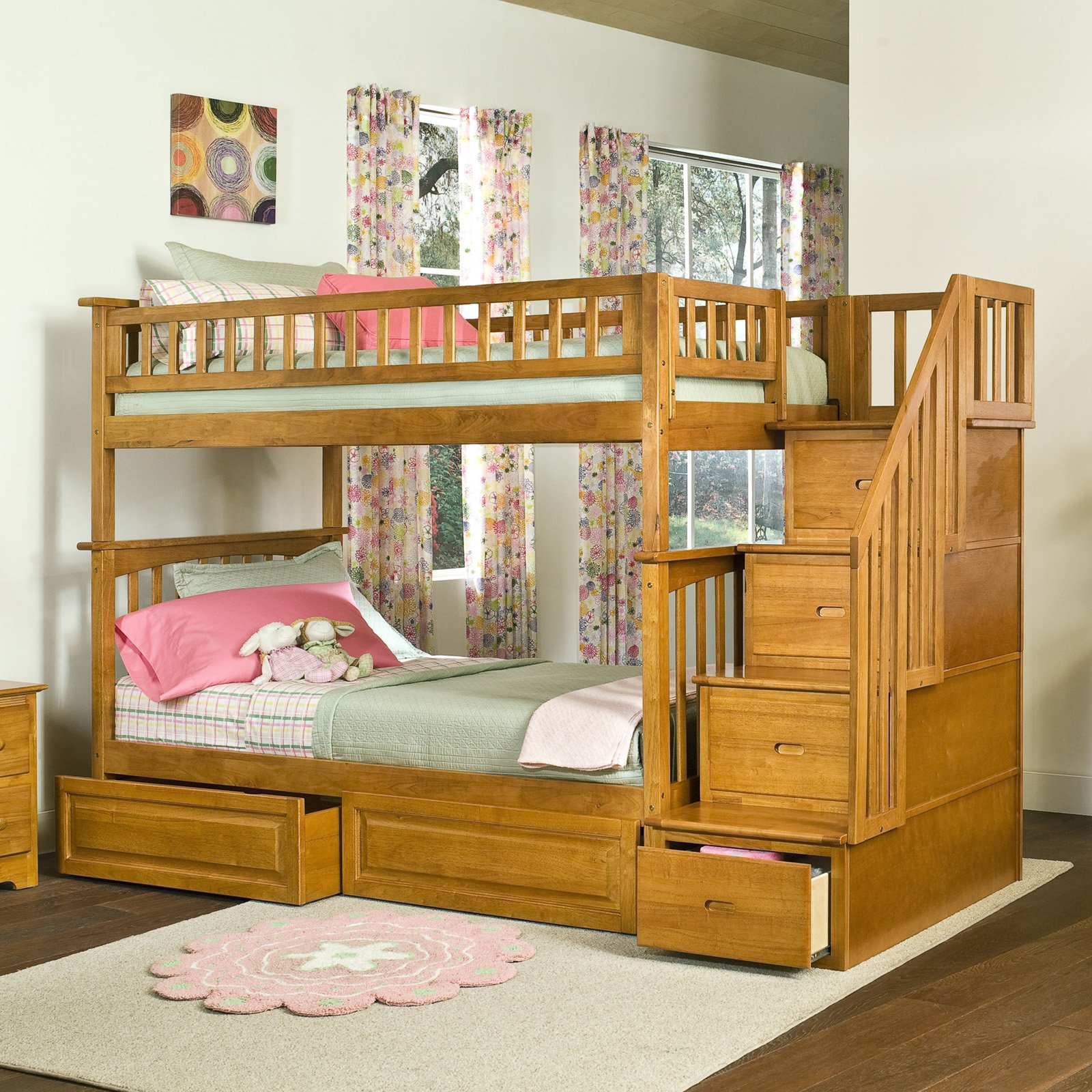 Bunk Bed Plans With Stairs Bunk Beds Unique And