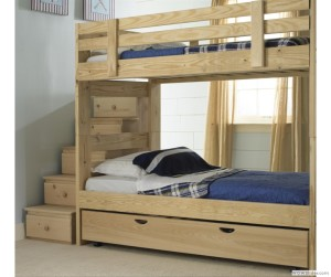 Bunk Bed Plans With Stairs