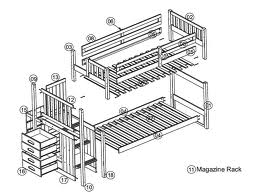 Bunk Beds With Stairs Plans | BED PLANS DIY & BLUEPRINTS