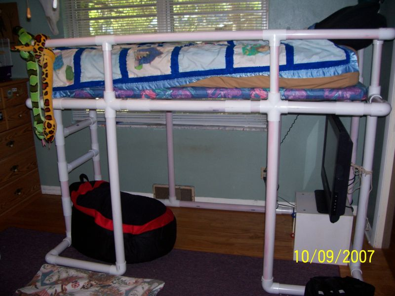 25 Diy Bunk Beds With Plans: Diy Loft Bed Plans : Are Loft Beds Bunk Beds Safe