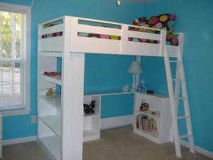 Diy Loft Bed Plans : Are Loft Beds Bunk Beds Safe
