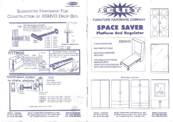 Diy Murphy Bed Plans Bed Plans Diy Amp Blueprints