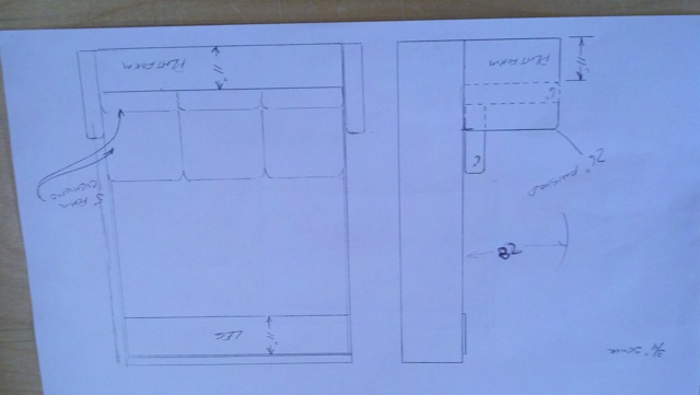 Wall Bed Design Plans : Diy murphy bed plans blueprints