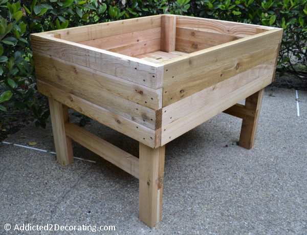 Raised Bed Gardens Plans Diy Woodworking Plans Pictures to pin on ...