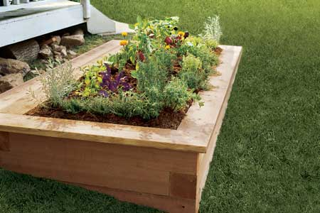 Elevated Garden Bed Plans BED PLANS DIY BLUEPRINTS