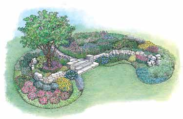Flower bed plans bed plans diy blueprints for Flower bed design plans