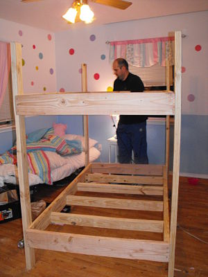 Woodworking free blueprints for bunk beds PDF Free Download