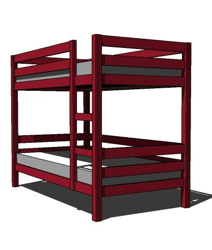 How To Build Your Own Bunk Bed Free Plans