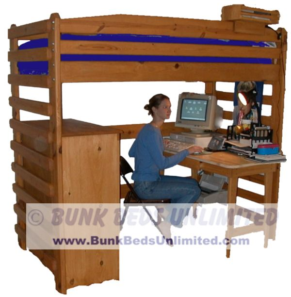 free loft bed plans twin size | Quick Woodworking Projects