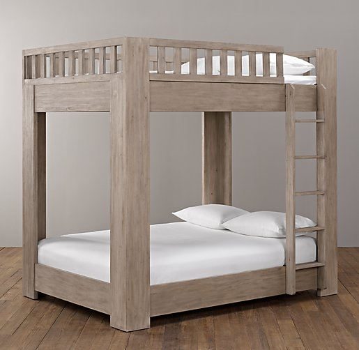 diy full over full bunk bed plans » woodworktips