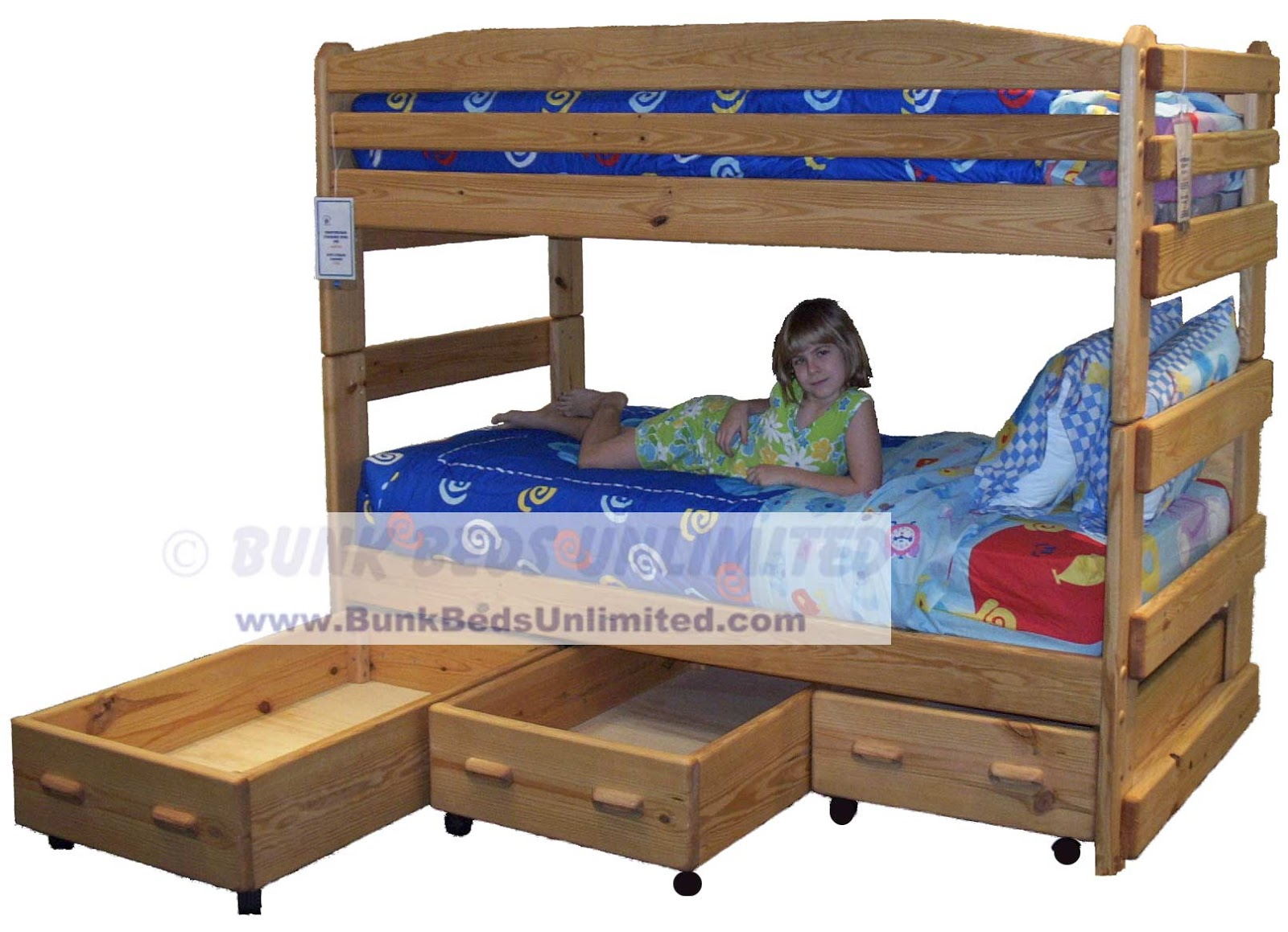 Triple Full Bunk Bed Plans