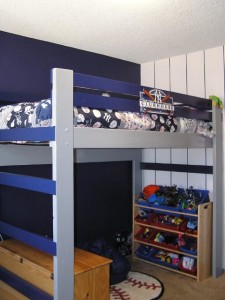 Full Size Loft Bed Plans