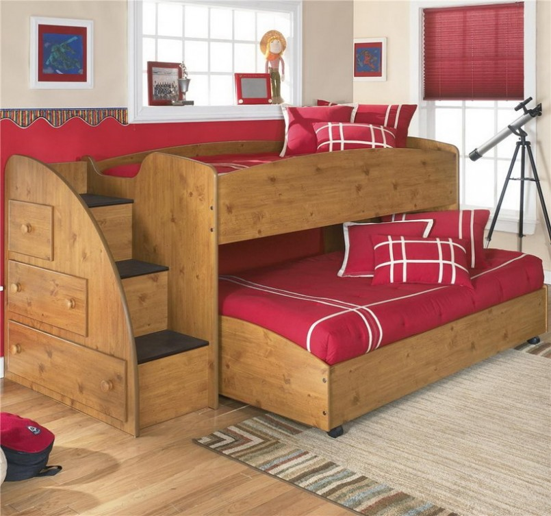 Nice Kids Bed Plans