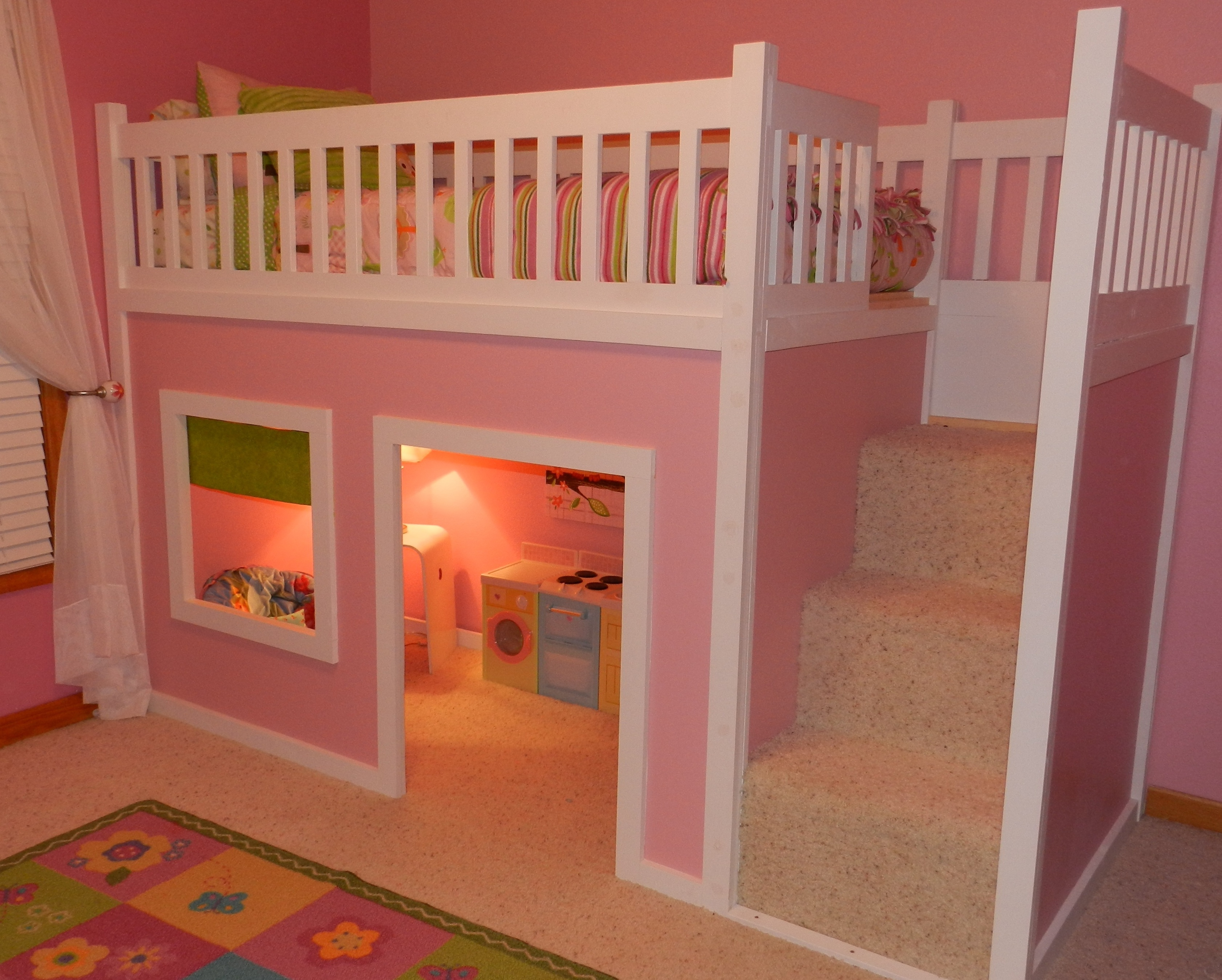Kids Loft Bed Plans : Bunk Beds – Distinctive And Stylish Thought ...