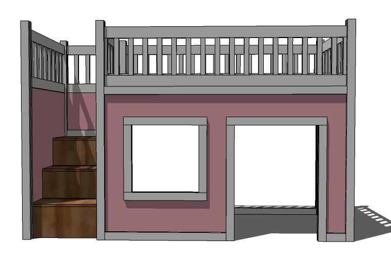 Kids Loft Bed Plans : Bunk Beds – Distinctive And Stylish ...