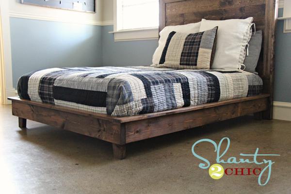 Woodworking king bed frame design plans PDF Free Download