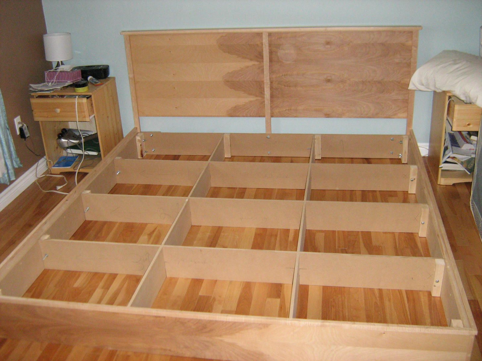 King Platform Bed Plans | BED PLANS DIY & BLUEPRINTS