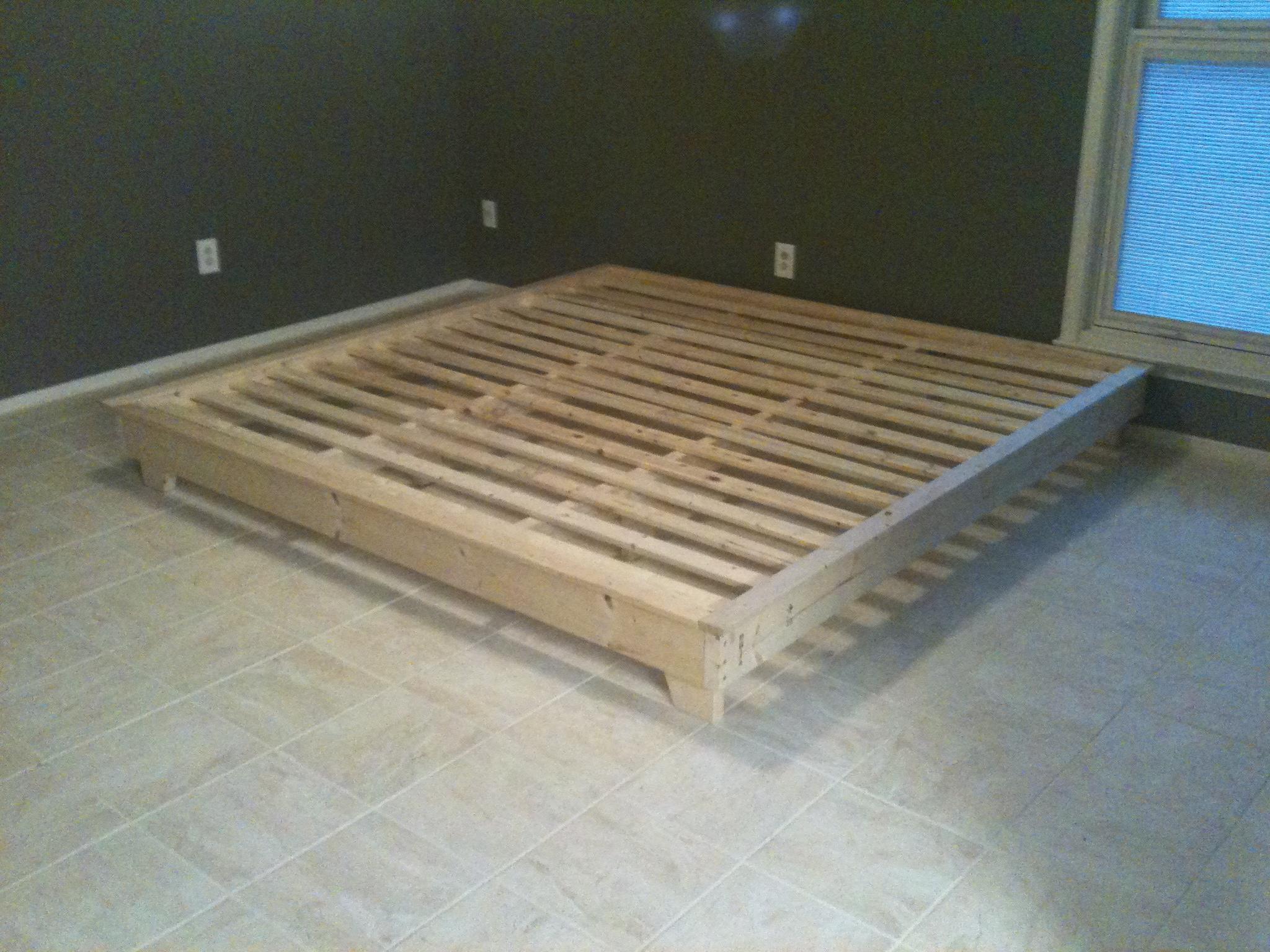 Build A Platform Bed With Storage Part 2. Expedit Queen Platform ...