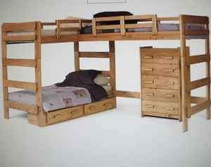 triple loft bunk bed plans