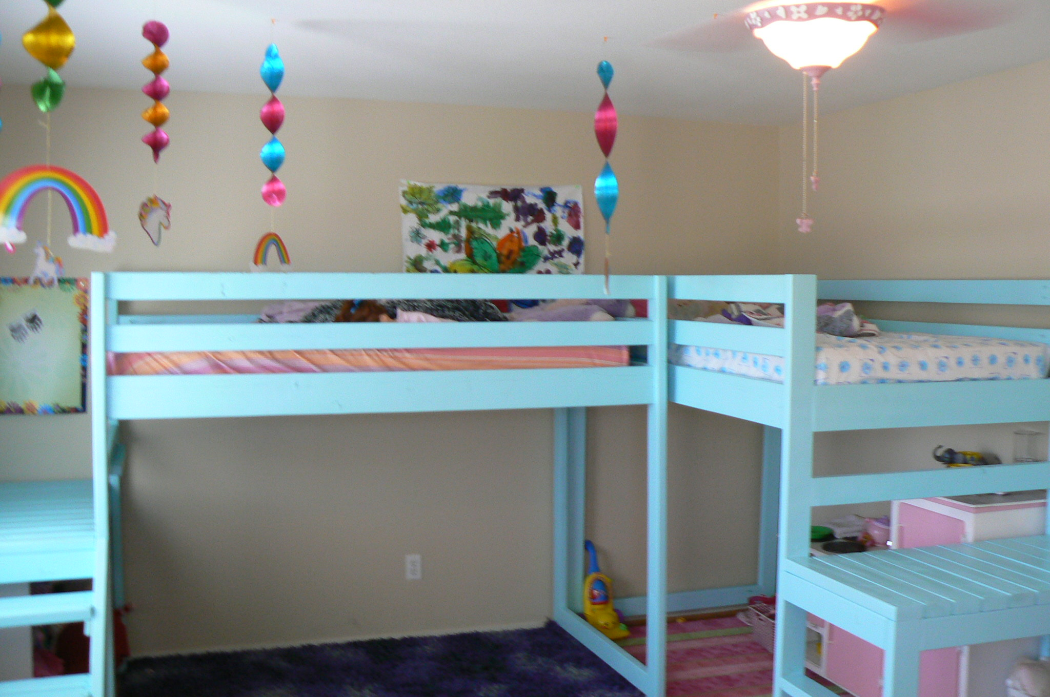 Pdf diy l shaped loft bunk bed plans download loft bunk for Loft drawings