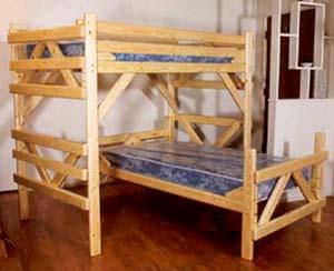 L Shaped Bunk Bed Plans Bed Plans Diy Amp Blueprints