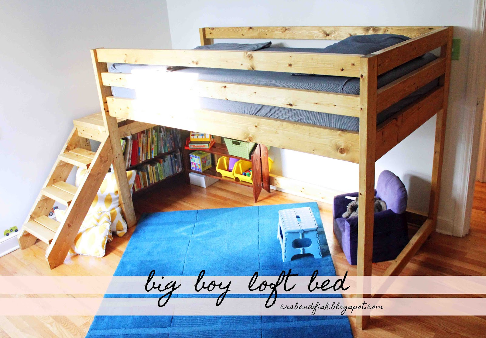 Murphy bed plans ana white woodworktips for Loft drawings