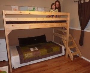 Loft Bed Plans With Stairs