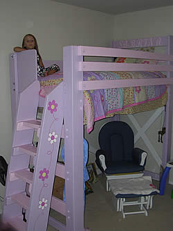building plans a low loft bed