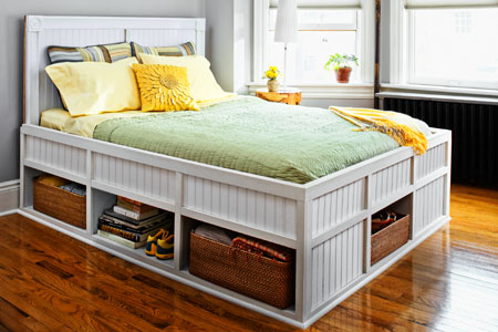 Platform Storage Bed Plans | BED PLANS DIY & BLUEPRINTS