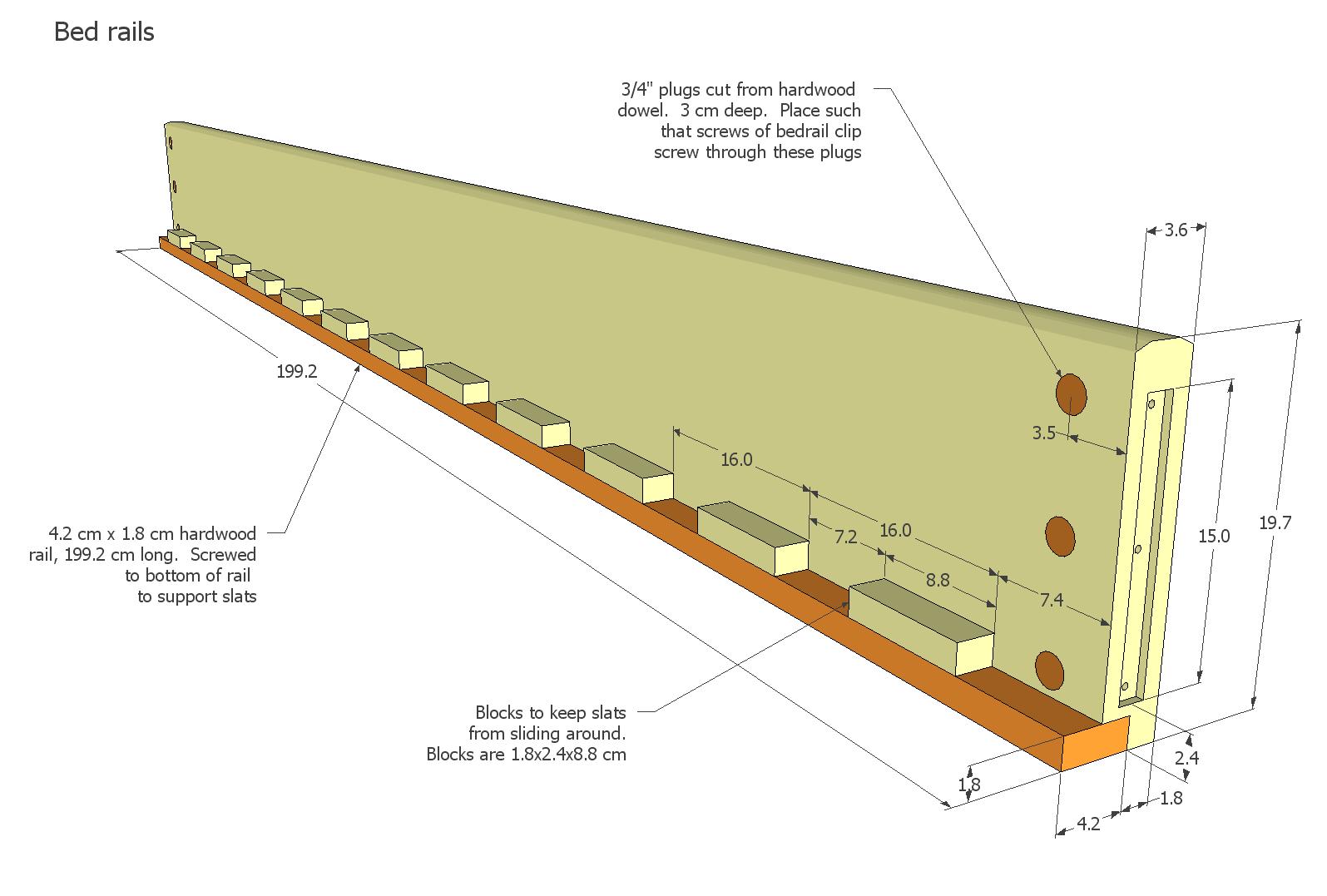Queen Bed Plans | BED PLANS DIY & BLUEPRINTS