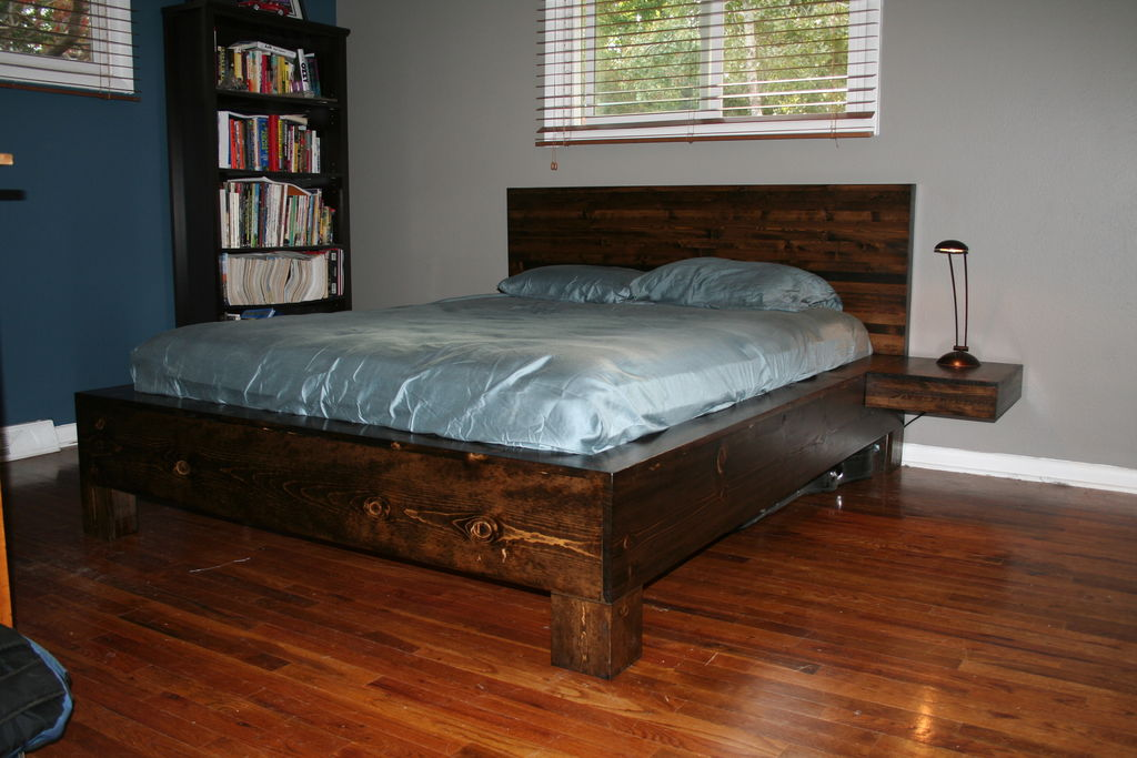 queen platform bed plans bed plans diy blueprints queen platform bed ...