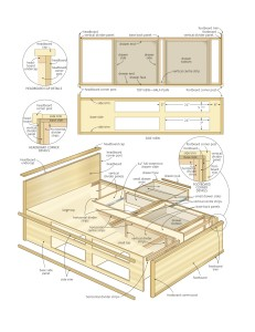 queen-size-bed-frame-plans-11