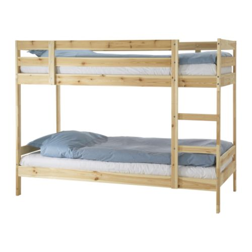 simple bunk bed plans bed plans diy blueprints. Black Bedroom Furniture Sets. Home Design Ideas