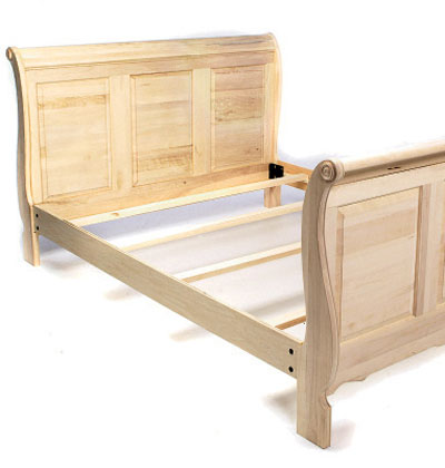 Sleigh Bed Plans | BED PLANS DIY & BLUEPRINTS