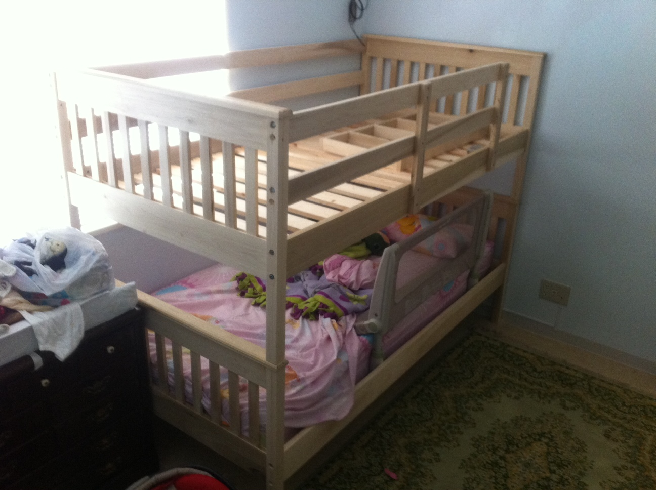 Toddler bunk bed plans bed plans diy blueprints for Toddler bunk beds