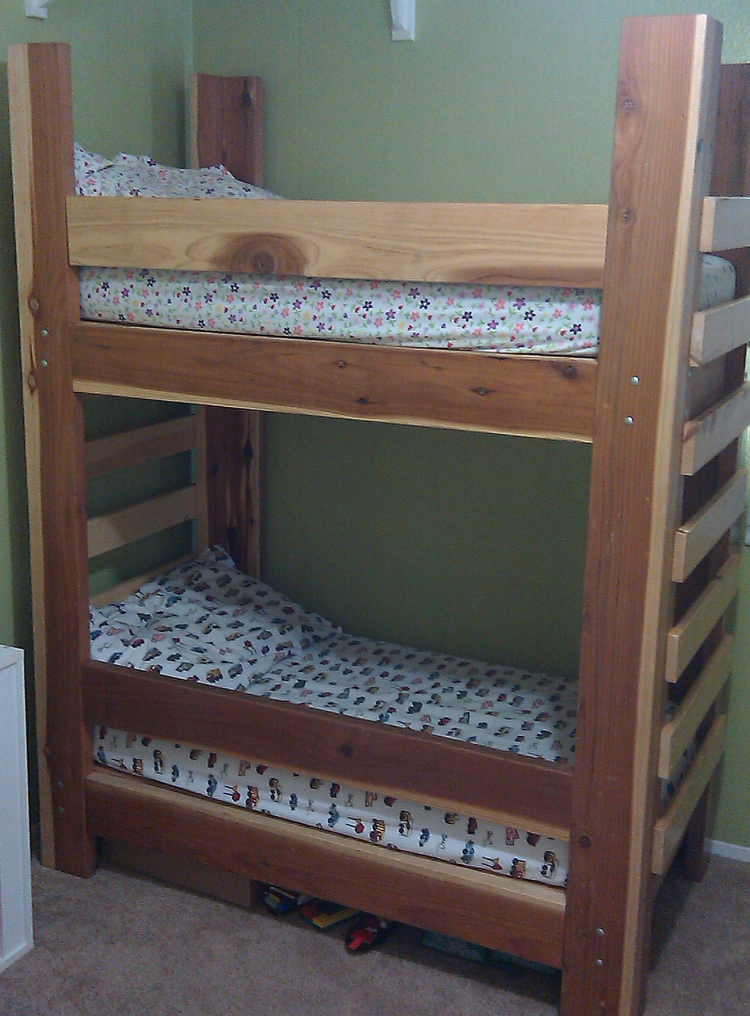 Toddler Bunk Bed Plans Bed Plans Diy Amp Blueprints