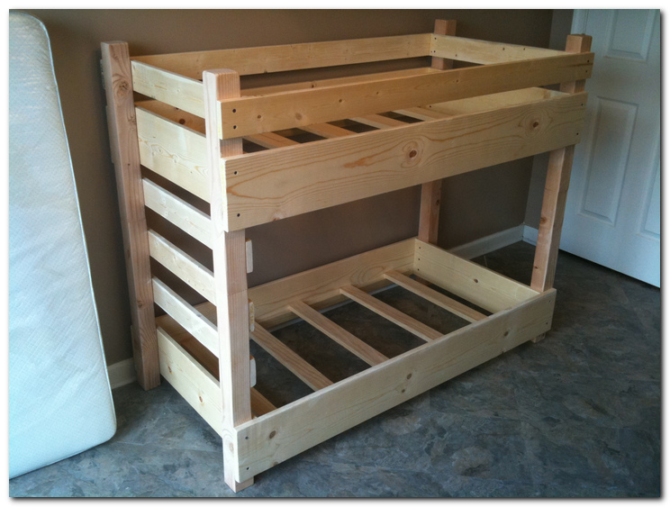 Permalink to free bunk bed with stairs building plans