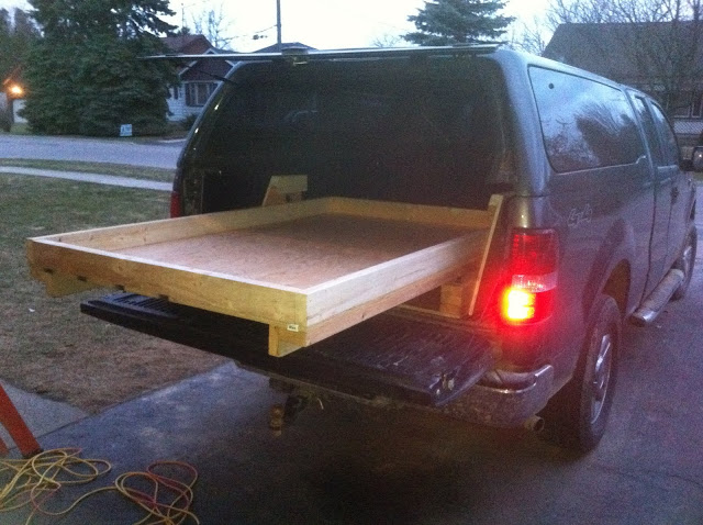 Truck Bed Slide Plans | BED PLANS DIY & BLUEPRINTS