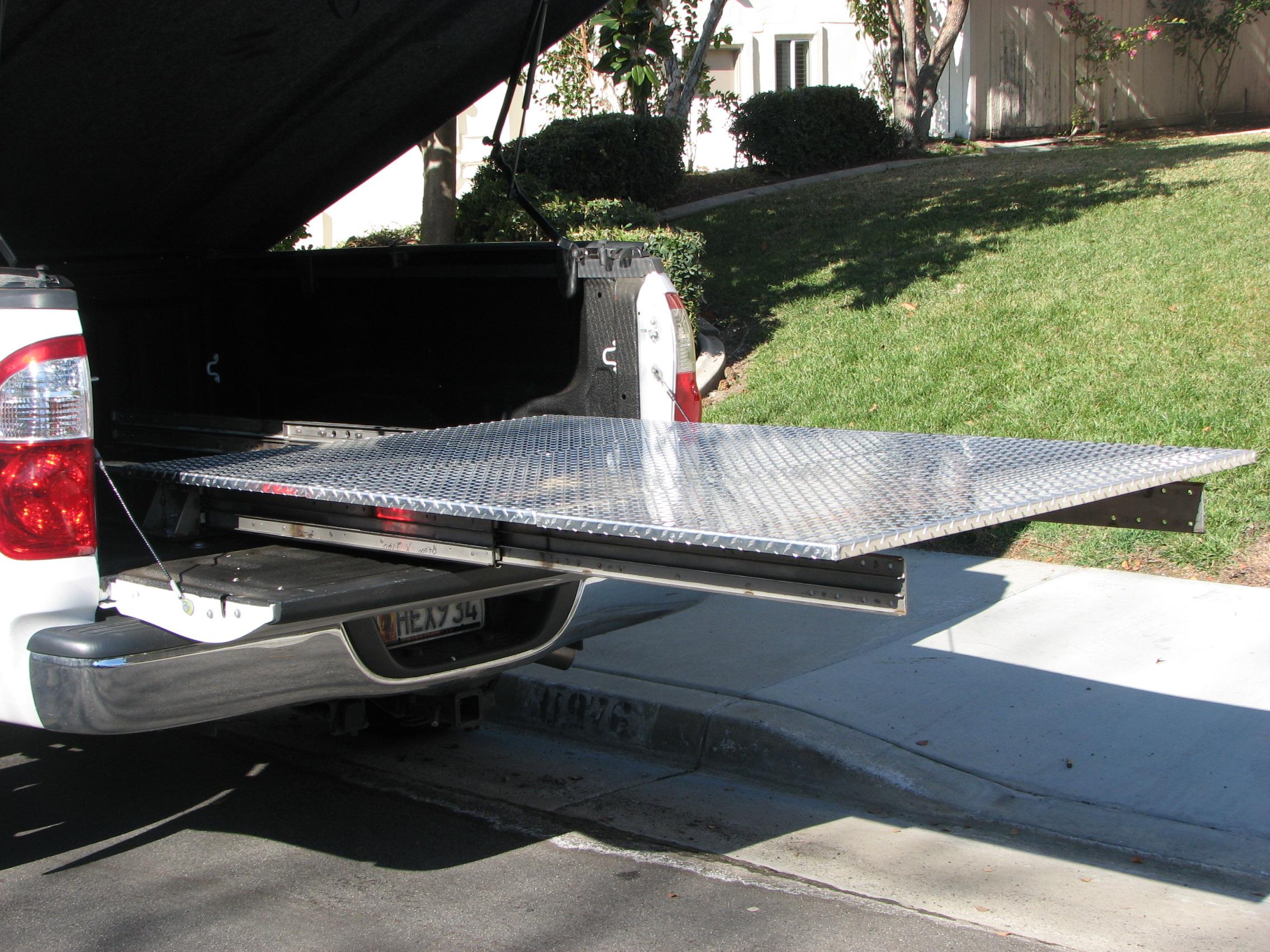 Truck Bed Slide Out Tool Box >> Truck Bed Slide Plans | BED PLANS DIY & BLUEPRINTS