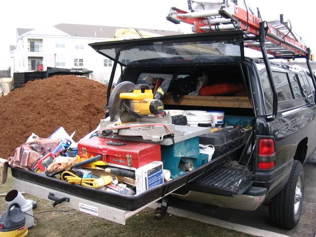 Diy platform bed frame with storage 2017 2018 best cars reviews - Homemade truck bed storage ...